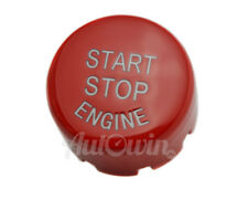 BMW F Series F30 F10 F01 F25 F15 Red Start Stop Engine Push Button Cover NEW