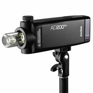 Godox AD200Pro 200W 2.4G TTL HSS Studio Outdoor Flash&Changeable Flash Head