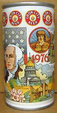 IRON CITY BEER WEST VIRGINIA BICENTENNIAL cs CAN Pittsburgh PENNSYLVANIA 1978 1+