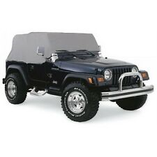 Rampage 1261 Cab Cover Fits 87 06 Wrangler Tj Wrangler Yj Fits Jeep