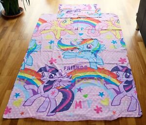 My Little Pony - Single Duvet Cover Set with Pillowcase - Very Good Condition