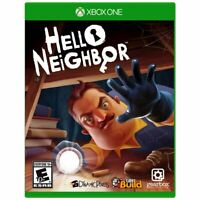 Hello Neighbor (Microsoft Xbox One, 2017) NEW