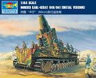 MORSER KARL-GERAT 040/041 INITIAL VERSION 1/144 tank Trumpeter model kit 00101