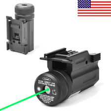 US Green Dot Laser Sight QD 20mm Rail Mount for Pistol Rifle Glock 17 19 22