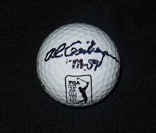 """AL GEIBERGER AUTOGRAPHED """"PGA TOUR"""" LOGO GOLF BALL (Mr. 59!) W/ COA!"""