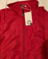 FIRSTAR JACKETS MAROON/WHITE NEW WITH TAGS SALE!!!! Warm ups Game Ready Hockey