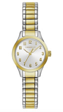 $100 Caravelle by Bulova Women's Two-Tone Stainless Steel Watch 45L177