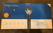 Ring Solar Pathlight – Outdoor Motion-Sensor Security Light, Black