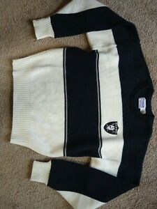 Vintage Oakland Raiders Sweater NFL PRO LINE Cliff Engle Size Men's Med