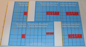 Generic Service History Book Suitable For Nissan Almera Juke Micra Note