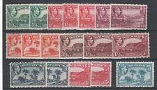 George VI (1936-1952) Postage Montserratian Stamps