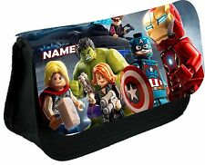 Lego Marvel Heroes #2 Personalised Pencil / Make-up Bag