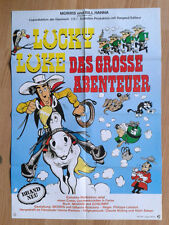 LUCKY LUKE : LES DALTON EN CAVALE - Morris- Goscinny 1983 German 1-sheet poster