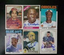 Silvio Martinez Cardinals White Sox Autographed Signed 1982 Fleer Card TOUGH