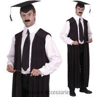 Adult Unisex School Teacher Felt Mortar Board Hat Graduation Reunion Fancy Dress