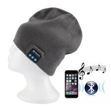 Smart Keep Warm Music Beanie Hat with Builtin Wireless Bluetooth Headphones G PK
