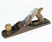 VINTAGE STANLEY BAILEY SMOOTHING PLANE NO 5 MADE IN ENGLAND WOODWORKING
