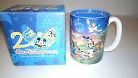 Walt Disney World year 2000 coffee mug Celebrate The Future Hand in/new in box
