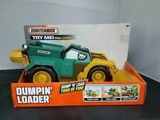 Matchbox Dumpin Loader Large Green Dump Truck Toy Vehicle DML55 NEW 2015