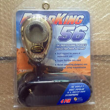 For RoadKing - 4-Pin Dynamic Noise Canceling CB, HAM Microphone, Chrome RK564PCH