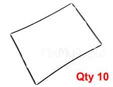 Lot of 10 x Black Midframe Bezel Plastic Glass Screen Holder For iPad 3/4