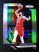 G69 2018-19 Panini Prizm Anthony Davis Silver Prizm Refractor Pelicans Lakers