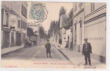 CPA 92270 BOIS COLOMBES rue Côte Saint Thibaut MECANICIEN Edit LE BRETON ca1904