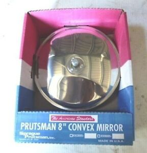 """CONVEX MIRROR  - 8"""" - STAINLESS STEEL BODY, CAR PARKS, STAIRS, SECURITY"""