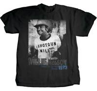 Shotgun Willie Nelson Texas 1973 Country Music Adult Mens T Tee Shirt JMM-1007