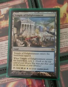TEMPLE OF ETERNITY FOIL FACTORY SEALED MTG BORN OF THE GODS Magic MOL