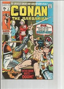 Conan the Barbarian #2: Bronze Age Grade 7.0 Marvel Comics