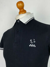 Fred Perry X Specials 2009 Twin Tipped Pique Polo Shirt S|38 (Black) Mod Scooter