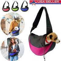 Pet Puppy Small Dog Cat Carrier Comfort Travel Tote Shoulder Bag Sling Backpack