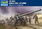 GERMAN S.10CM K.18 CANNON 1/35 tank Trumpeter model kit 02305