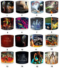War Of The Worlds Table Or Ceiling Lampshades, Ideal To Match Films Wall Decals