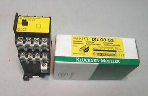Eaton Moeller Schütz DIL08-53   220V / 50Hz  240V / 60Hz   NEU/OVP