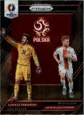 2016 Prizm UEFA Euro '16 Country Comb Dual Jakub Blaszczykowski Lukasz Fabianski