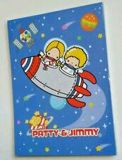 Rare Sanrio Patty & Jimmy in Space Kawaii Large Memo Pad 55th Anniversary 2016