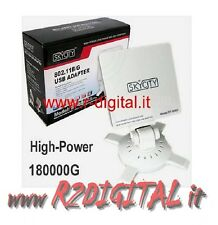 ANTENA ULTRA POTENTE 16db RECEPTOR WIRELESS AMPLIFICADO WIFI USB CHIP REALTEK