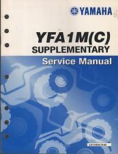2000 YAMAHA ATV YFA1M(C) SUPPLEMENT SERVICE MANUAL LIT-11616-13-28 (037)