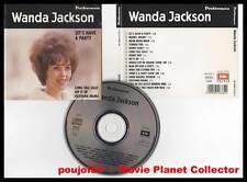 """WANDA JACKSON """"Let's Have A Party"""" (CD) Préférences 1991"""