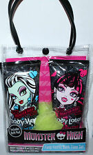 Monster High FANG-TASTIC Bath Time Set Body Wash, Lotion & Body Poof NIP **