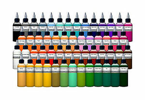 DC's Premium Pigment Tattoo Ink - All Colours