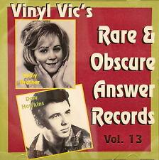 VINYL VIC'S 'Rare & Obscure Answer Records' - Vol# 13 - 30 VA Tracks