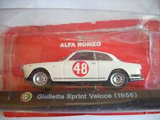 GIULIETTA SPRINT VELOCE 1956 SCALA 143