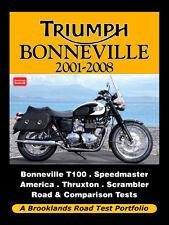 TRIUMPH BONNEVILLE T100 Maestro Velocidad America 2001-08 buyer's Guía reseñas