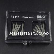 10 Pcs Dental Resin Fiber Post Screw Endo Files Drill Screw thread Glass 1.8mm