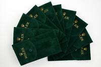 Novità Lotto ROLEX Accessori Service Pochette Tessuto Floccato 10 Custodie Cool