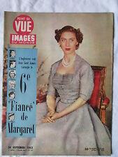 POINT DE VUE IMAGES DU MONDE 277 (1953) 6e FIANCE DE MARGARET