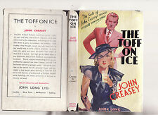 THE TOFF ON ICE - JOHN CREASEY   rare  !!!!!
